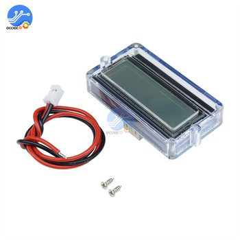 BMS 3S 12V 18650 Lithium Battery Capacity Indicator Waterproof LCD Backlight Digital Display Battery Tester For Car Lead Acid image