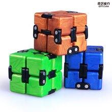 Stres giderici oyuncak QiYi renkli Infinity sihirli Neo küp bloklar taşınabilir Decompresses dinlenmek oyuncaklar çocuk yetişkinler için çocuk oyuncakları