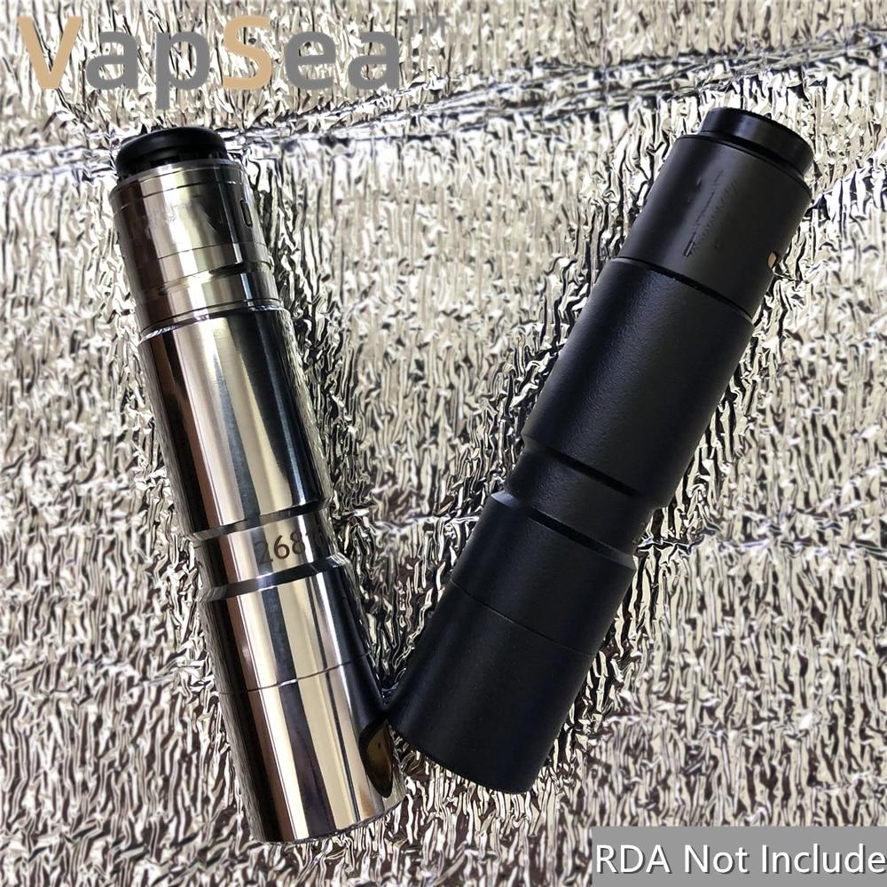 26mm de diámetro 18650 mod kit batería mod mecánico para vape mod 18650 cigarrillo electrónico set mod mecánico