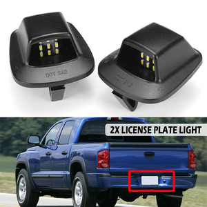 Parts License Plate Light Acce
