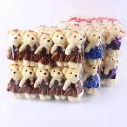 Цветочный упаковочный материал мороженое бурение медведь мультяшный букет кукольный букет пена медведь цветочный магазин поставки Грант