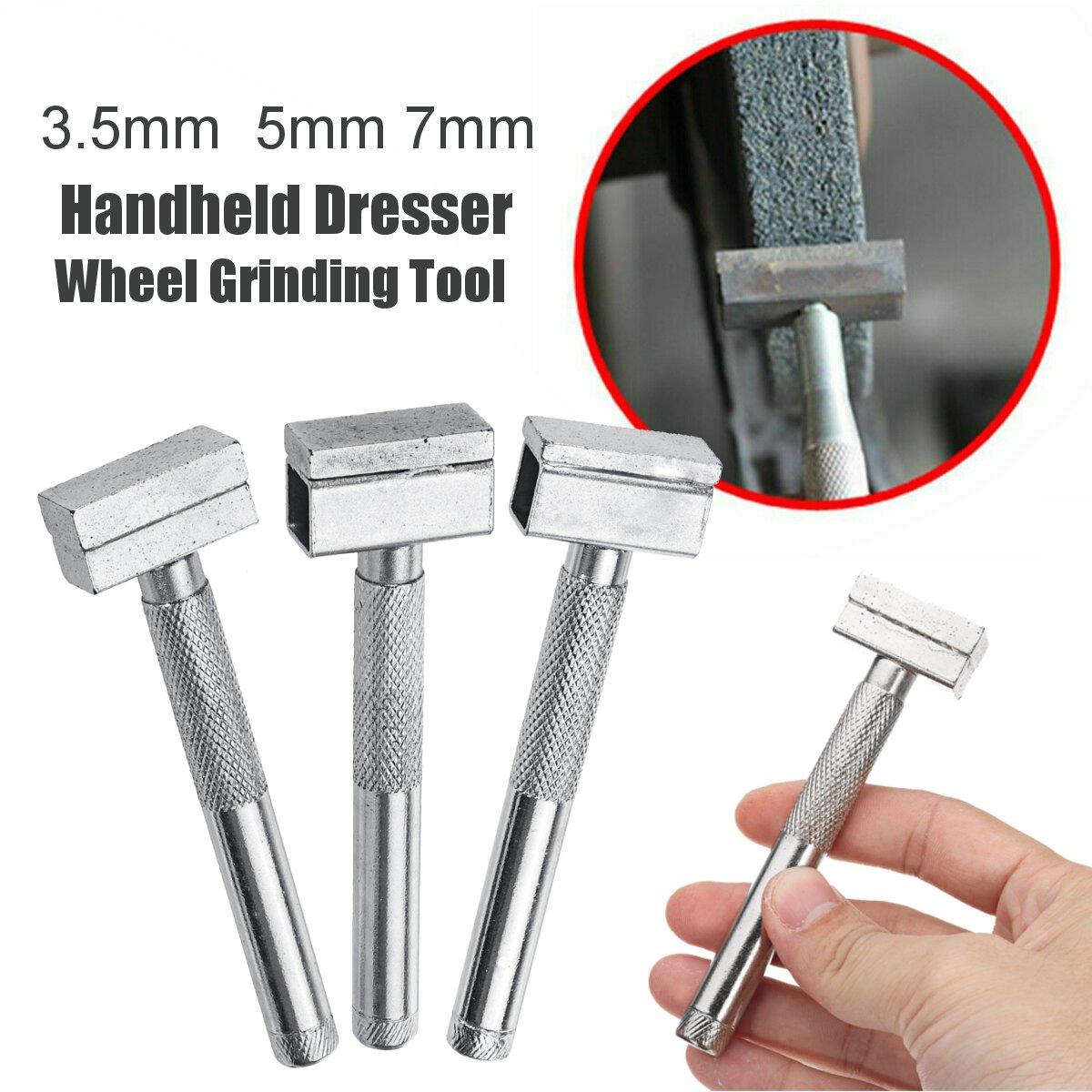 Diamond Grinding Wheel Stone Dresser Tools Handheld Bench Grinder Disc Dressing Metal Grinder Stone Grinding Dressing Tool