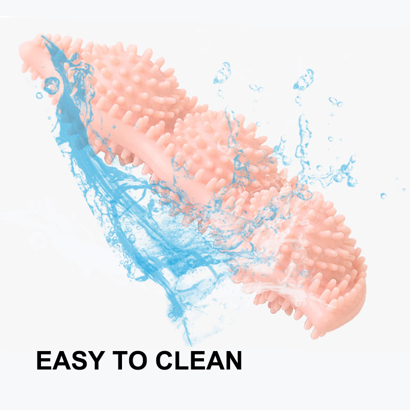 Силиконовая игрушка для собак мягкая чистки зубов