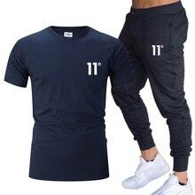 2 шт/компл мужской спортивной одежды фитнес костюм для бега