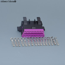 Shhworldsea 16pin 1,8 мм OBD диагностический разъем розетка Корпус для Audi VW Skoda 3A0 972 695/695 A