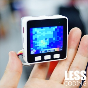 Image 5 - M5Stack Official Thermal Camera MLX90640 with I2C Compatible ESP32 Development Board Thermal Imaging Camera Infrared Module