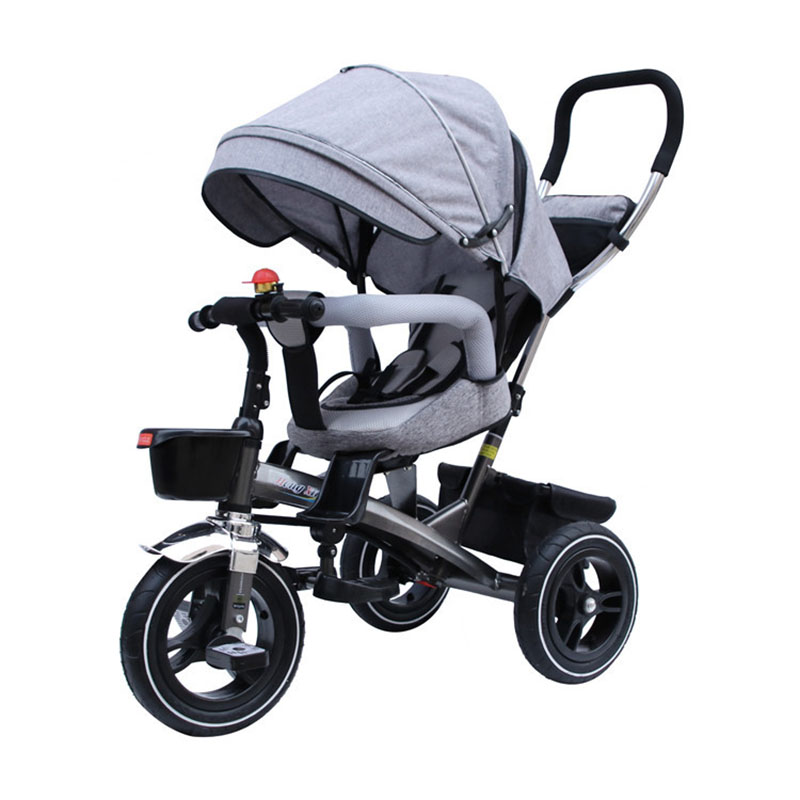 Children's Tricycle  4 In 1  Bicycle 1-6 Years Old  Rotating Seat Multi-function Baby Stroller