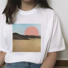 Летняя женская рубашка модные белые топы с коротким рукавом