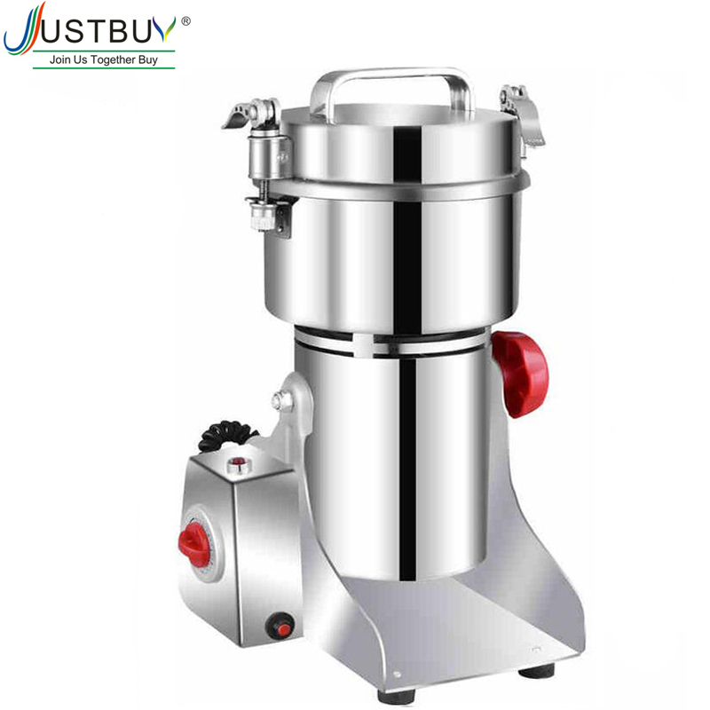 700g Medicine Powder Crusher Mill Medicine Flour Grinding Machine Food Grinder Spices Grains Coffee