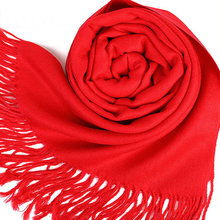 2019 ladies imitation cashmere scarf spring and autumn thin long scarf fringed shawl outdoor soft checked pattern fringed scarf