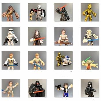 цена на Playskool Star Wars Galactic Heroes Snow Trooper Action Figure Skywalker Darth Vader Stormtroops Obiwan Yoda Clone Movie Toys