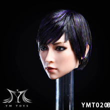 YMTOYS 1/6 YMT020 A/B/C Female Asian YA Head Sculpt Carving Fit 12