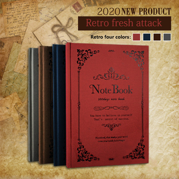 A5 Retro European Magic Student Diary Book Planner Hardcover Sketchbook Drawing Paint Graffiti Notebook Copybook