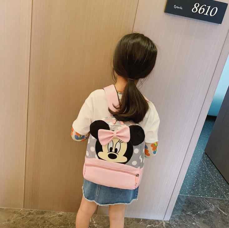 2019 mochilas de Mickey y Minnie para niños, mochila de guardería, mochila para niños, mochilas escolares para niñas, mochilas para niños