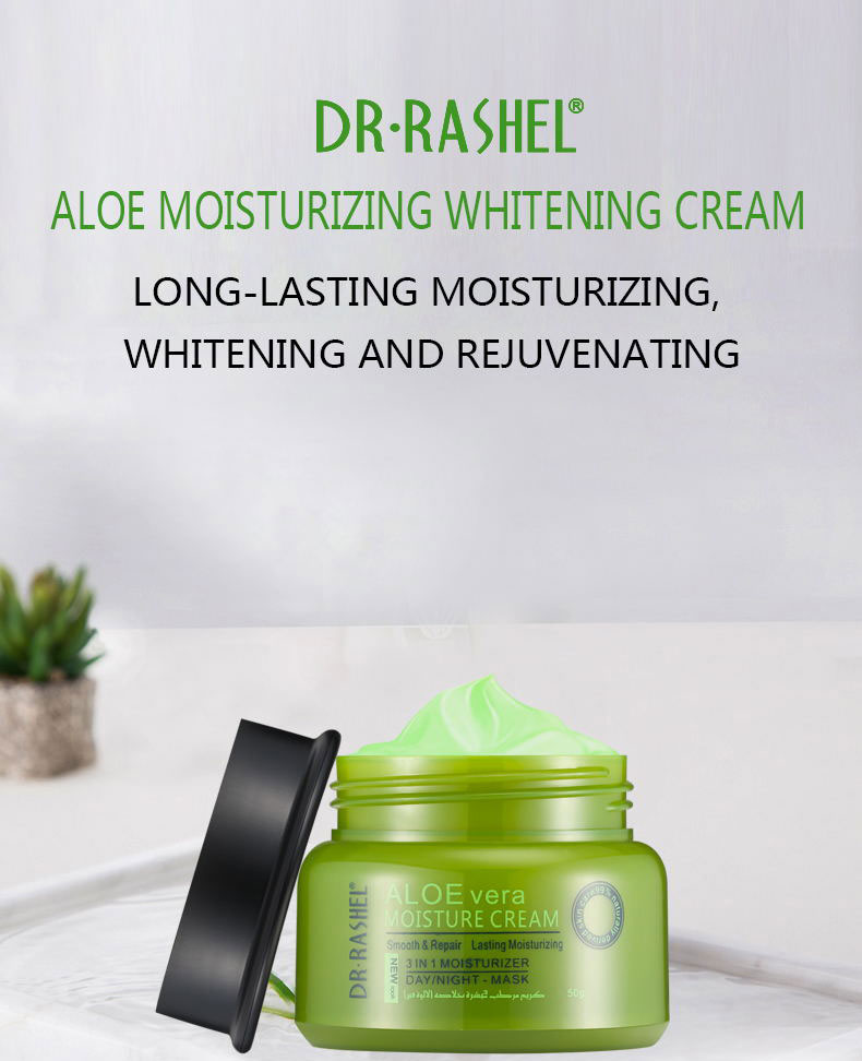 DR.RASHEL Natural Aloe Vera face Cream Acne Treatment Moisturizing  Hydrating After Sun Repair Skin Smooth Whitening Day Cream|Facial Self  Tanners & Bronzers| - AliExpress