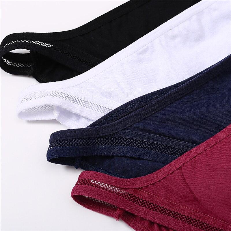 Sexy Panties Women Underwear Waist Hollow Cotton Briefs For Girls Low-Rise Bikini Female Lingerie Comfortable Underpants M-XL 2