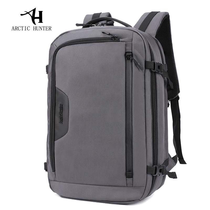 Sac à dos pour homme Arctic Hunter 2019 marque de haute qualité pour ordinateur portable de grande capacité Mochila hommes sac à dos étanche homme