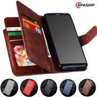 Brieftasche Flip-Cover für Samsung Galaxy S10 5G S9 S8 S7 Rand A8 A6 A7 A5 A3 J6 J4 plus J7 J5 J3 2017 2018 Fall PU Leder Telefon Tasche