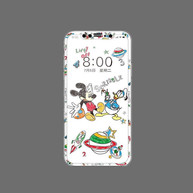 Disney 2021 Mickey Dessin Animé En Plastique Souple Écran Protecteur Film Protecteur Pour iPhone 11 SE 6 6S 7 8 Plus X XR XS 11 Pro Max