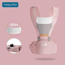 HappyBear/эргономичный рюкзак-кенгуру для детей 0-48 месяцев, многофункциональная Детская сумка-кенгуру