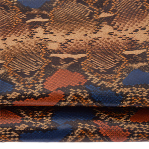 Chzimade A4 Snake Skin Embossed Soft Cork Leather Synthetic Fabric For Bow Craft Bag Shoes Sofa DIY Sewing Accessories