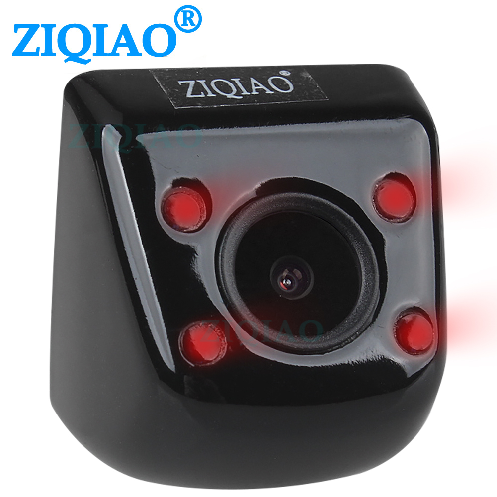 ZIQIAO Car Infrared Rear View Camera Universal HD IR Night Vision Reverse Parking View Camera HS009