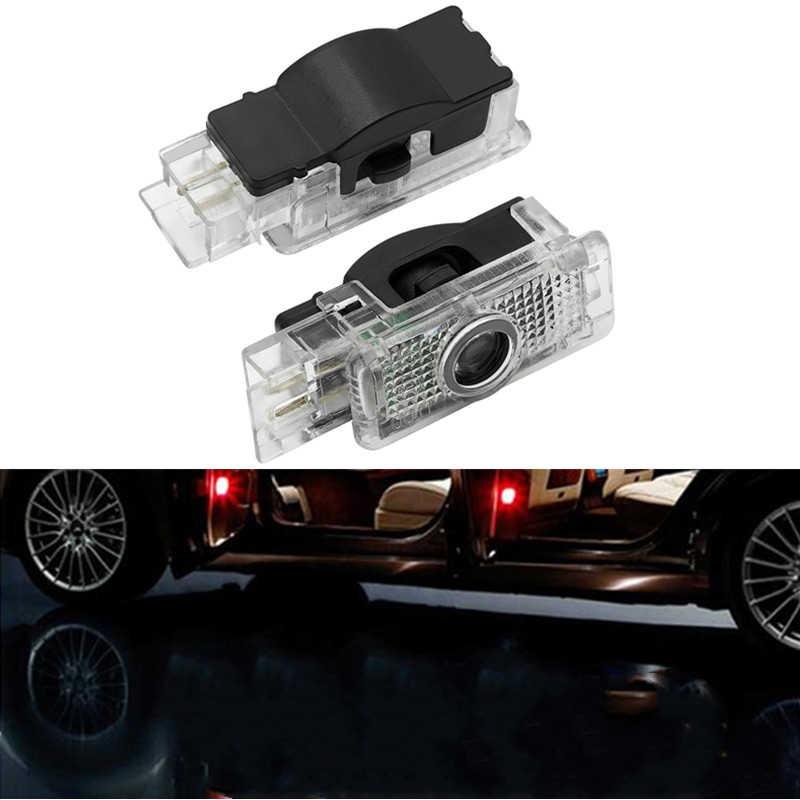 2X LED Auto Tür Licht Logo Projektor Logo Lampe Für Mercedes Benz C SLK CLK SLR Klasse W203 W240 W209 r199 R171