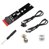 Taste EIN & Key B + M M.2 Ngff Ssd Zu 2 5 Sata 6 Gb/S Adapter Karte Mit Usb Signal gehäuse Buchse M2 Ngff Konverter Unterstützung Bluetooth auf