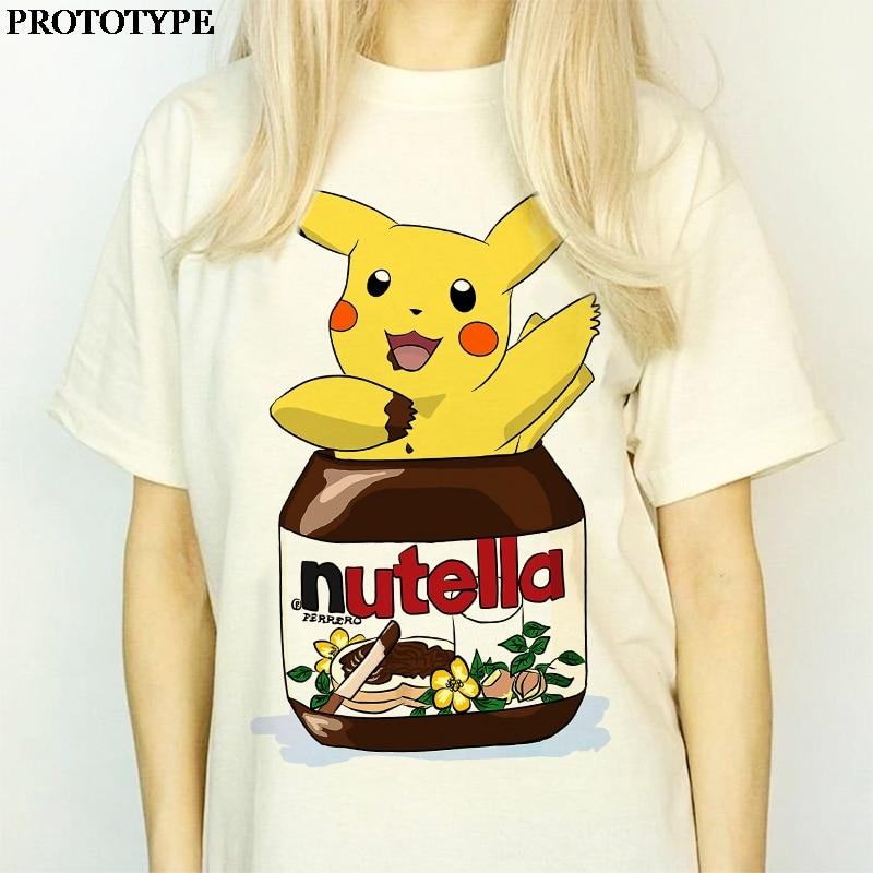 kawaii-font-b-pokemon-b-font-and-nutella-print-cute-graphic-harajuku-aesthetic-oversized-t-shirt-women-short-sleeve-summer-top-anime-tshirt