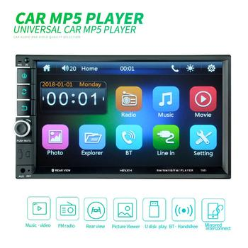 2din Car Radio Android multimedia player Autoradio 2 Din 7'' Touch screen GPS Bluetooth FM WIFI auto audio stereo image