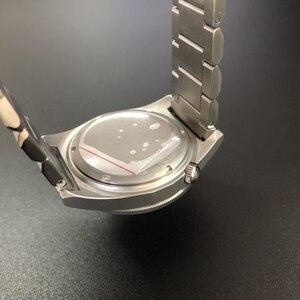 Image 2 - STEELDIVE 1979T Automatische Mechanische Uhr NH35 Sapphire Kristall Spezielle Shark 200m Taucher Uhr Männer C3 Leucht Dive Uhren männer