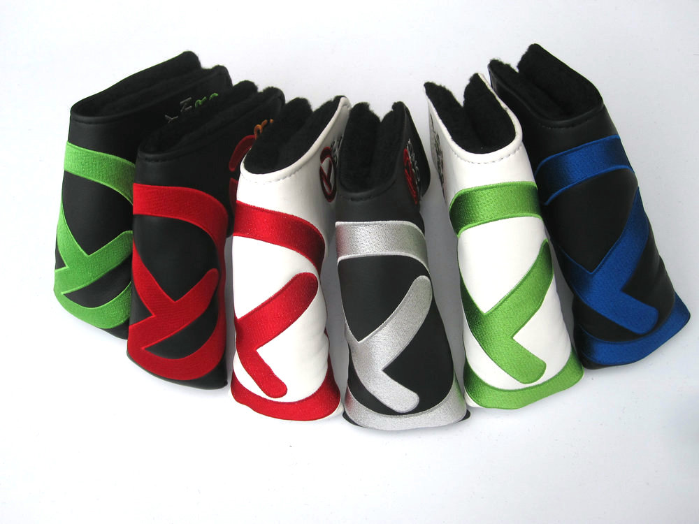 For Tour Use Style Golf Head Covers PU Club Accessories Golf Putter Cover Headcover For Blade Golf Putter Head Covers