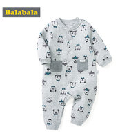 Balabala newbron autumn spring Baby boys Rompers Long Sleeve cotton baby junmpsuit girls bebe baby boy girl clothes