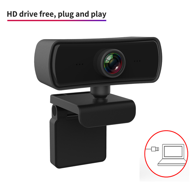 Webcam 2k 2040*1080p hd, câmera de computador e pc com microfone, câmeras rotativas para chamadas de vídeo em transmissão ao vivo trabalho de conferência 6