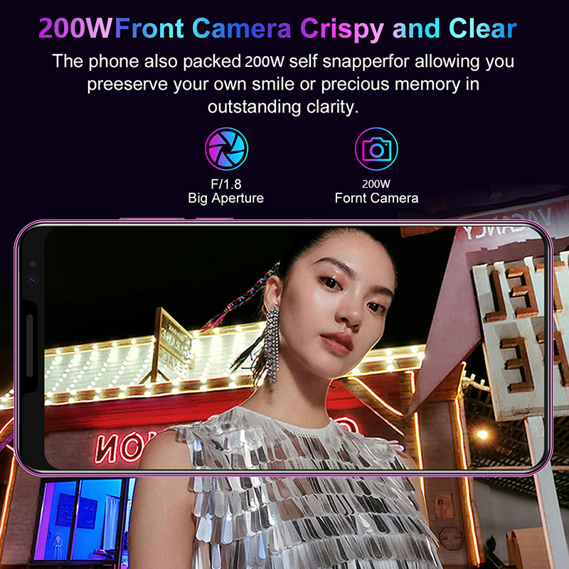 SOYES mate36 pro Mobile Phone Android Fingerprint Recognition 5.8inch 512M+ 4GB  New Camera Wifi Factory Phone 4