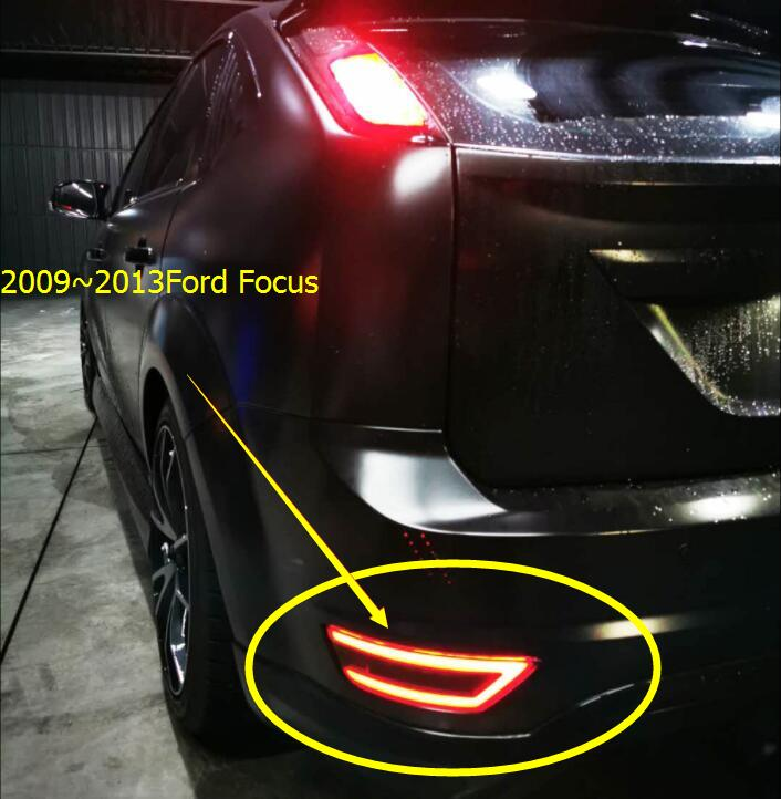 Hatch-back Car 2009~2013y Tail Light For Focus Taillight Brake Car Accessories LED Breaking Taillamp For Focus Fog Light