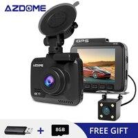 AZDOME GS63H Car Dvrs 2160P GPS WiFi Video Recorder Dual Cameras 24 Hours Parking Monitoring Auto Registrar Dash Camera