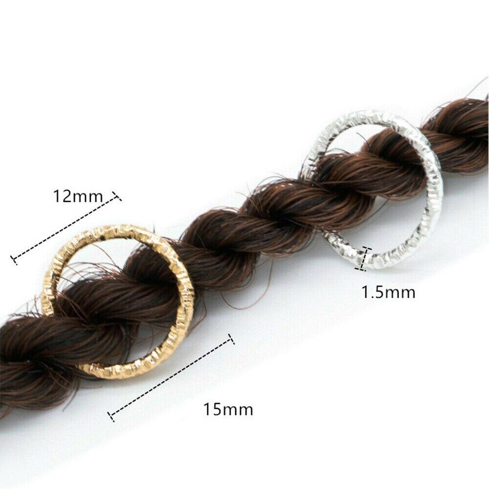 Não-escorregadio cabelo trança acessórios clipes para mulheres