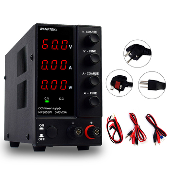 Wanptek laboratory DC power supply adjustable regulated switching variable bench source 30V 10A voltage converter