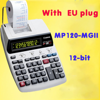 Calculator Mp120 mgii Large Desktop Plug in Dual Color Print Computer 12Digits With Small Roll Test Paper Lcd Display Calculator