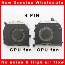 Computador portátil cpu gpu refrigerador do ventilador de refrigeração radiador para dell precision 5530 m5530 xps15 xps 15 9570 08yyy9 008yyy9 tk9j1 0tk9j1