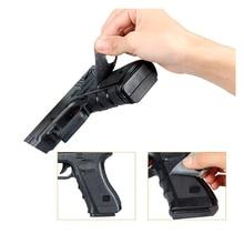 Non-slip Rubber Texture Grip Wrap Tape Glove for Glock 17 19 20 21 22 /19 23 25 32 38