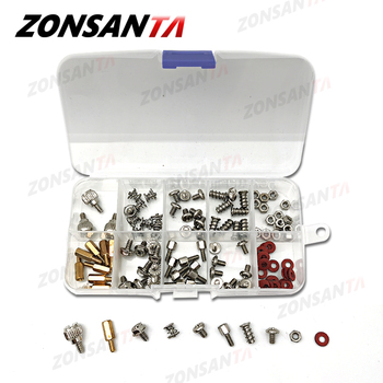 цена на ZONSANTA 114Pcs Computer Screws Accessories DIY Motherboard Mounting Hardware Fan Screws Hard Disk Computer with Case video card