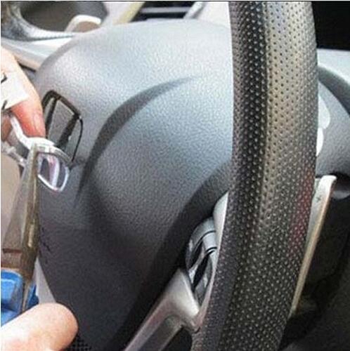 1 шт. 3D ABS хромированные H логотип рулевого колеса автомобиля эмблемы рулевого колеса стикеры стайлинга автомобилей авто аксессуары
