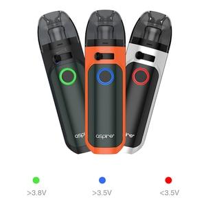 Image 5 - In stock! Aspire Tigon AIO Kit 1300mAh Battery 4.6ml Vape Pod with Tigon Coils Electronic Cigarette Kit vs Aspire Breeze NXT
