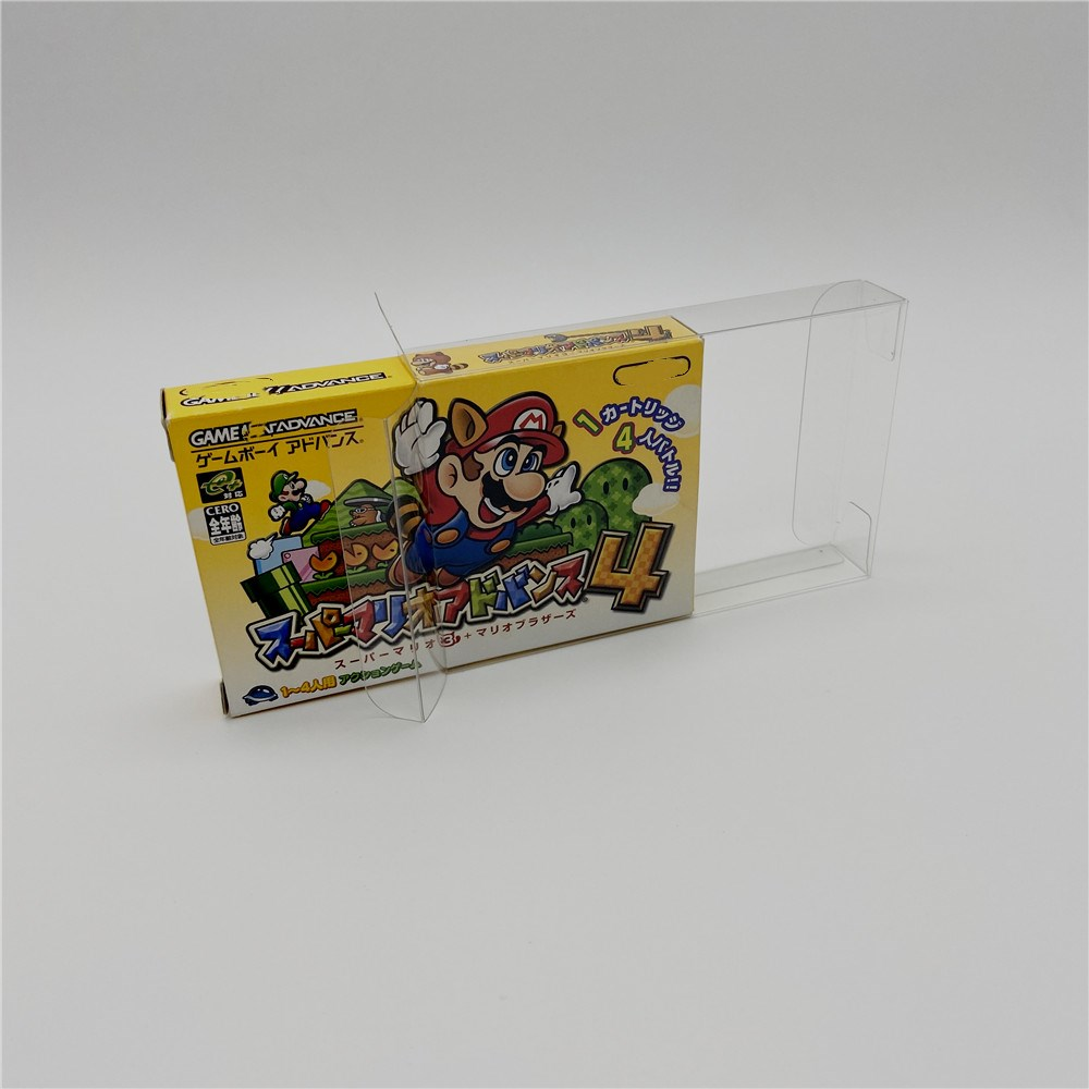 Collection Box, Display Box, Protection Box And Storage Box For Japanese Version Of GAMEBOY ADVANCE GBA Games
