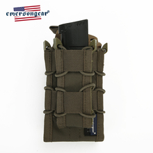 emersongear Emerson Dual Decker Magazine Pouch Molle Open Top Rifle Pistol Mag Easy Access Hunting Airsoft Military Army Gear