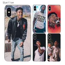Uyellow YoungBoy Never Broke Again Lil Baby Cover For Iphone 5 6S 7 8 10 Plus Trend Soft Phone Case Apple X XR XS MAX Coque