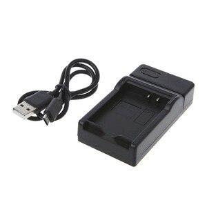 Image 4 - Chargeur de batterie pour Canon LP E10 EOS1100D E0S1200D Kiss X50 rebelle T3 Portable