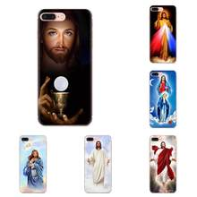 Divine Mercy Jesus Cross Best Coque For Galaxy Alpha Note 10 Pro A10 A20 A20E A30 A40 A50 A60 A70 A80 A90 M10 M20 M30 M40(China)
